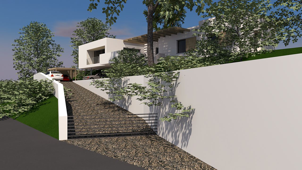 Art Webber modern lakóépület