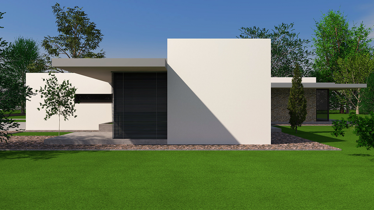 Art Webber modern háztervek